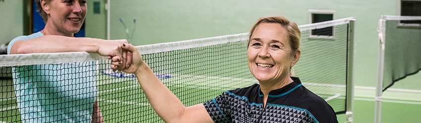 Badminton - tak for kampen