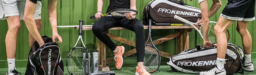 Tilbehør til badminton, tennis og squash